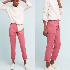 Anthropologie Washed Pink The Wanderer Cargo Pants